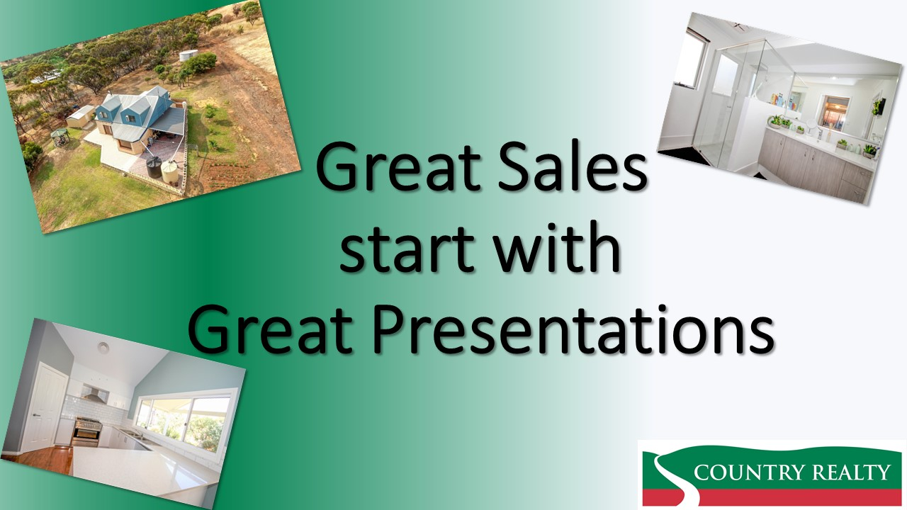 Great Sales begin with Great Presentations